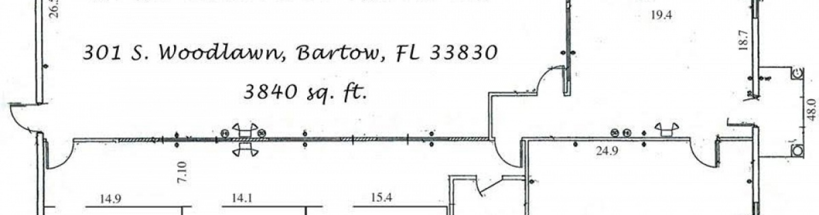 301 Woodlawn Ave. S,Bartow,Florida 33830,Office,Woodlawn Ave.,1006